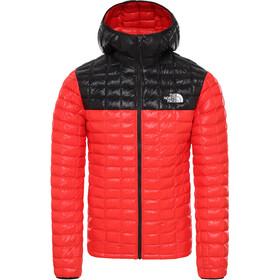 The North Face ThermoBall Eco Capuchon Jas Heren, fiery red/tnf black